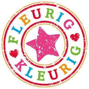 Fleurig en kleurig logo