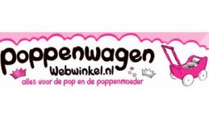 Poppenwagen webwinkel logo