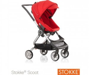 Stokke Scoot rood