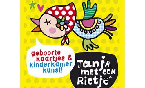 Tanja met een rietje logo