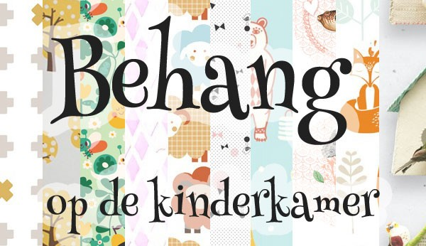 Kinderkamer Kinderkamer Behang : Hip behang voor op de kinderkamer ...