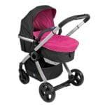 Chicco roze kinderwagen