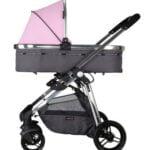 X adventure kinderwagen roze
