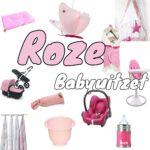 Roze babykamer en babyuitzet voor een meisje