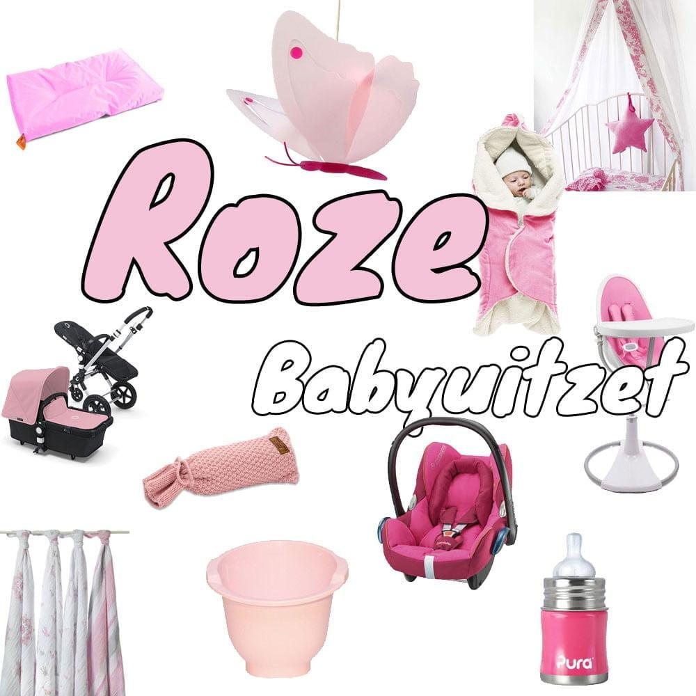 Roze babyuitzet