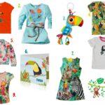 Toekan kleding printjes, heerlijk zomers