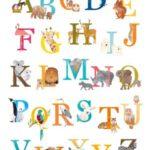 ABC poster vrolijkegeboortekaartjes