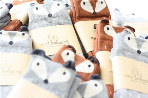 raccoon socks mini dressing