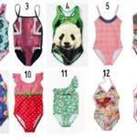 Badpakken voor meisjes 2015