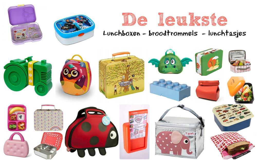 Leukste lunchboxen broodtrommels