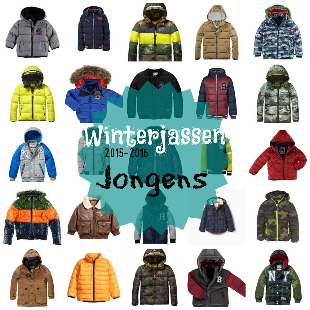 winterjassen jongens 2015-2016