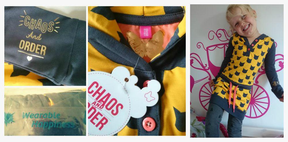 Chaos and order aleesha yellow jurk
