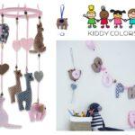 Nieuwe collectie fairtrade kinderkamer accessoires van KiddyColors