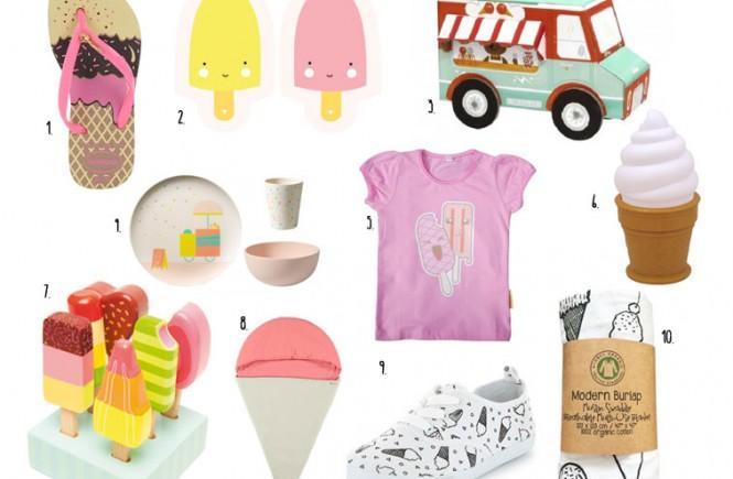 ijsjes voor kinderen