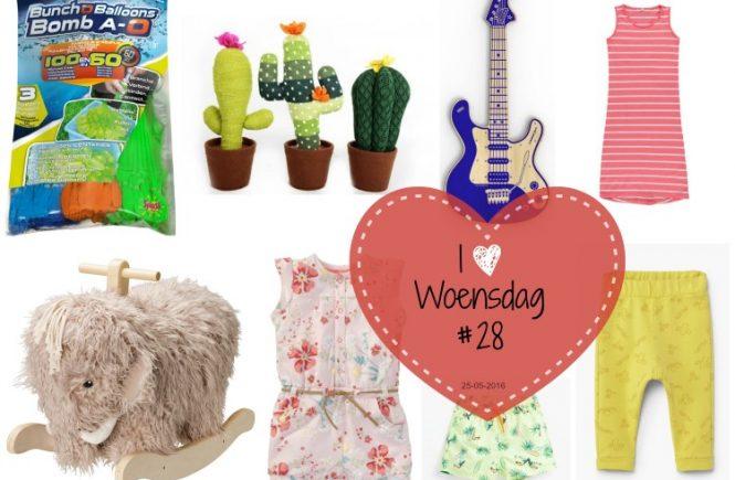 I love woensdag 28