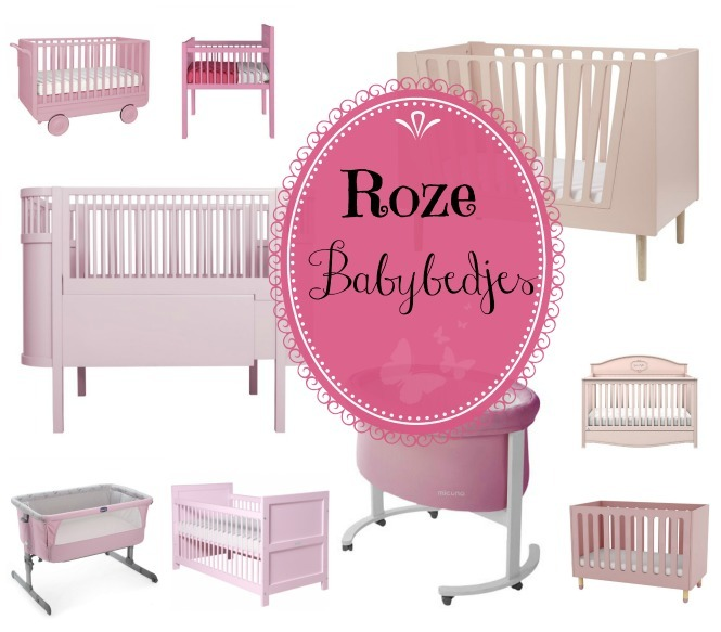 roze babybedjes