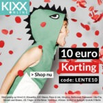 Kixx-online 10 euro kortingscode