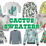 Sweaters met cactussen