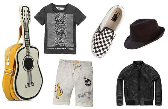 Rock outfit stijl jongens