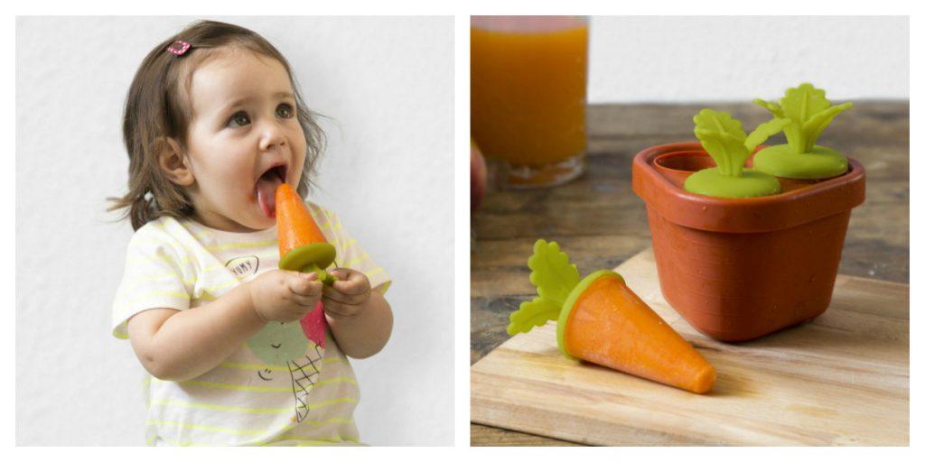 Peleg Design wortel ijsvormpjes