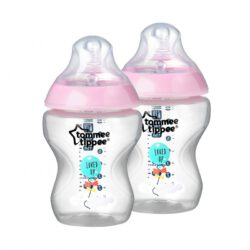 tommee tippee roze fles
